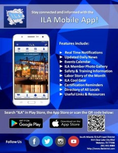 ILA APP Certification notifications