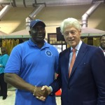 President Cameron & President Bill Clinton on jax visit