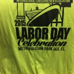 2015 Labor Day Celebration Volunteer's shirt