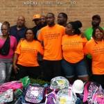 ILA 100 donating back to school backpacks
